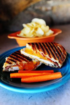 Four words that should go together more often? Chicken Bacon Ranch Panini. (Includes a tip on how to make a panini without the press!)