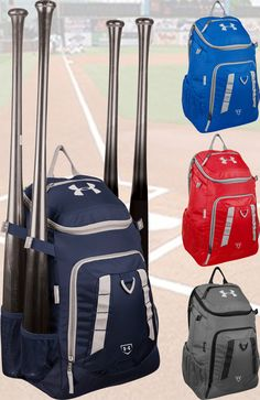 Equipment Bags 50807: Under Armour Undeniable Bat Pack Back Pack Baseball Softball Black, Red, Navy BUY IT NOW ONLY: $54.99