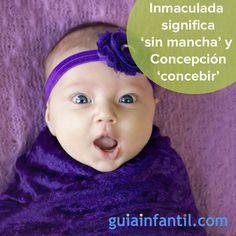 Curiosidades sobre el nombre de Inmaculada Concepción.