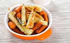 Honey-Glazed Roasted Carrots and Parsnips