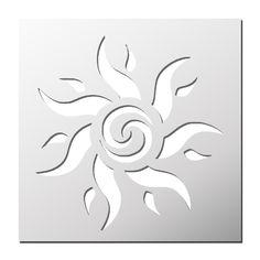 Catégories de produits  Fleurs/Plantes/Nature Stencils, Stencil Painting, Fabric Painting, Stencil Patterns, Stencil Designs, Applique Designs, Sun Art, Scroll Saw Patterns, Silhouette Design