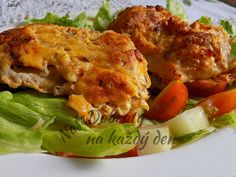 Recept Řízky v těstíčku z nivy, autor: Jana. Czech Recipes, Ethnic Recipes, Top Recipes, Lasagna, Quiche, Food And Drink, Treats, Chicken, Breakfast