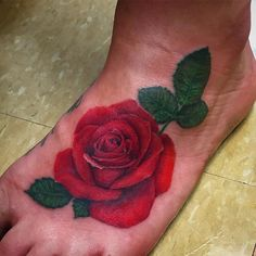 Lil rosey poo action #tattoo #tattoos #ink #art #artist #artists #tattooartist #tattooartists #femaletattooartist #ladytattooers #rose #roses #flower #flowers #rosetattoo #realistictattoo #realistic #colorful #colors #red #mylife #work #lovewhatido