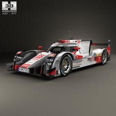 Audi R18 R 3D Model - 3D Model