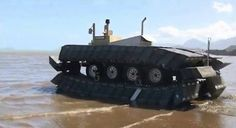 DARPA's Captive Air Amphibious Transporter can drive on water, help during disaster relief (video)