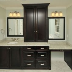 bathroom vanity with makeup area design pictures remodel decor and ideas page 7