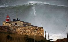 The veteran surfer Garrett McNamara looks likely to have broken the world record for the highest wave ever ridden. He caught the wave off the coast of Nazaré in Portugal on Monday (January 28). It was reportedly 100ft high (30.48m), although that is subject to verification.