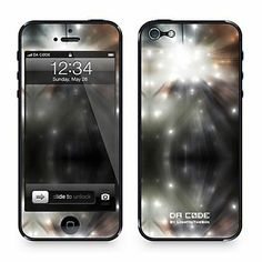 """Da Code ™ Skin for iPhone 4/4S: """"Light Speed"""" (Abstract Series) - Accessories for iPhone 5/5S"""