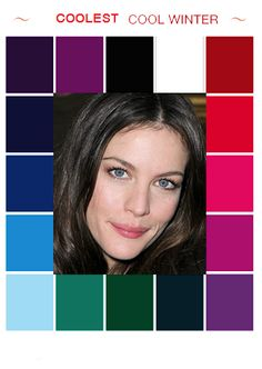 Trendy ideas for skin tony winter colour palettes Cool Winter Color Palette, Deep Winter Palette, Deep Winter Colors, Cool Skin Tone, Colors For Skin Tone, Cool Tones, Color Type, Winter Typ, Clear Winter