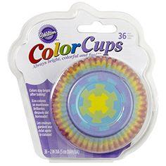 Standard Baking Cups 32//Pkg-Blue Swirls