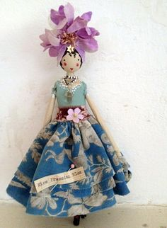 Fairy Miss Prussian Blue