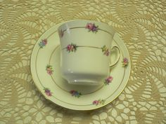 Vintage Colclough China Dainty Floral Cup and Saucer by Cupsofthepast on Etsy https://www.etsy.com/ca/listing/478332059/vintage-colclough-china-dainty-floral