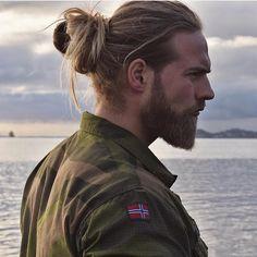 Norwegian Navy - Beards and manbun