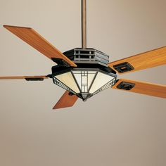 Craftsman style ceiling fans google search ceiling fans casablanca mission bronze patina ceiling fan p5970 aloadofball Choice Image