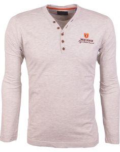 Afbeeldingsresultaat voor beige/bruine heren shirts lange mouw