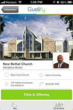 New Bethel Church in Kansas City, KS #GivelifyChurches