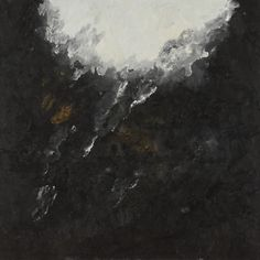 Schwarzes Bild, oil on canvas (150 x 150 cm.) by Armando