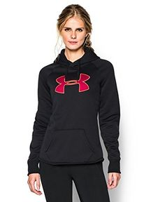 Under Armour Women's UA Storm Armour® Fleece Big Logo Hoodie ** Check out this great image @…