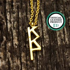 Kappa Kappa Gamma Letter Necklace by LetteredCo on Etsy