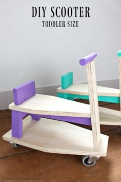Ana White Build a Scrap Wood Ride On Toy Scooter for Toddlers Free and Easy DIY Project and Furniture Plans Kids Woodworking Projects, Diy Projects For Kids, Woodworking Projects Diy, Diy Wood Projects, Diy For Kids, Wood Crafts, Project Ideas, Woodworking Plans, Woodworking Furniture