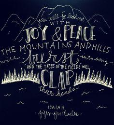 MOPS Fierce Flourishing scripture.  Isaiah 5:12