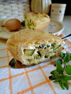 #Ciambella salata farcita con #zucchine e #ricotta, ideale da servire sulle tavole di #Pasqua