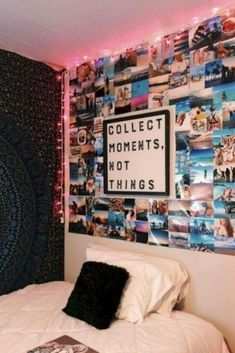 Room Decor Discover 41 Best Teen Girl Room Ideas - Chaylor & Mads The best teen girl room ideas including epic beds a hangout spot a feature wall twinkle lights a pretty desk area the best bedding & how to add details to make it all your own. Teenage Room Decor, Diy Room Decor For Teens, Bedroom Decor For Teen Girls, Cute Room Decor, Girl Bedroom Designs, Room Ideas Bedroom, Room Ideas For Teen Girls Diy, Boho Teen Bedroom, Teen Wall Decor
