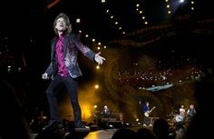 Mick Jagger of The Rolling Stones performs in Havana, Cuba, on Friday. The Stones performed in a free concert, becoming the most famous act to play Cuba since its 1959 revolution. Mick Jagger, Chariot Racing, Los Rolling Stones, Stone World, Charlie Watts, Free Concerts, Toronto Star, Keith Richards, Hollywood Life