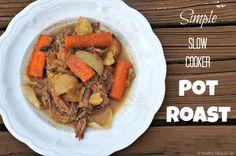 simple slow cooker pot roast- main