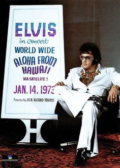 "Elvis Presley ""The Aloha Press Conference""1973"