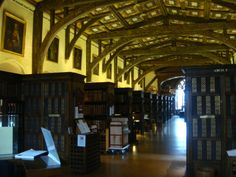 Bodleian Library reading room.