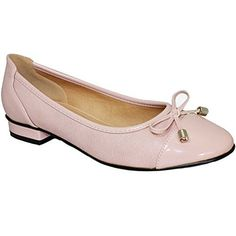 FANTASIA BOUTIQUE FLC006 Valencia Damen Schleife Akzent Patent Lässig Elegant Flache Pumps Ballet Schuhe - Damen, Rosa, 5 UK / 38 EU - http://on-line-kaufen.de/fantasia-boutique/38-eu-5-uk-fantasia-boutique-flc006-valencia-damen-3