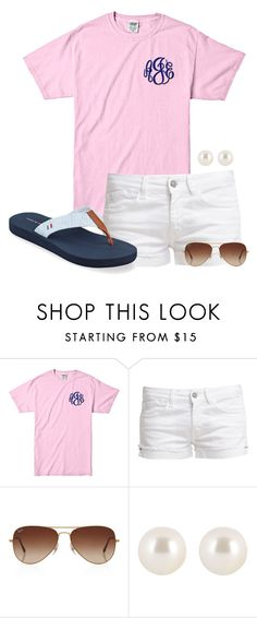 """sorry for not posting"" by haileyhartley ❤ liked on Polyvore featuring Le Temps Des Cerises, Rayban, Henri Bendel and Tommy Hilfiger"