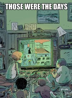 The good old one-screen days... yes! Many hours playing goldeneye with my cousin. Pew pew!