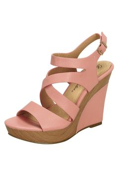 0d0d6f86aa1 beach hibiscus wedges in pink - De Blossom Collection