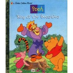 King of the Beasties (Pooh) - Little Golden Book