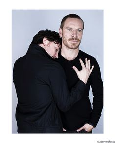 Michael Fassbender AND James McAvoy? I'm gonna need a minute...