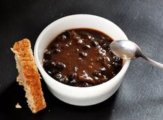 Black Bean Yam Soup by alexedibles #Soup #Black_Bean #Yam #Healthy