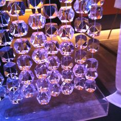 Hanging Ice decor | snowsuit fund gala