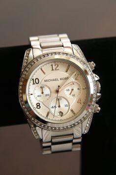 c264ce5ef9f0 MK  Pilot  Watch -  278.65 Sparkling crystals rim a round