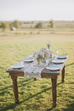 Farmhouse Wedding Inspiration from Day 7 Photography + Heavenly Day Events  Read more - http://www.stylemepretty.com/texas-weddings/2013/10/08/farmhouse-wedding-inspiration-from-day-7-photography-heavenly-day-events/