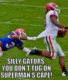 Run Gurley Run! Florida gators toooo slow for Georgia bulldogs