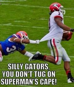 Run Gurley Run! Florida gators toooo slow for Georgia bulldogs