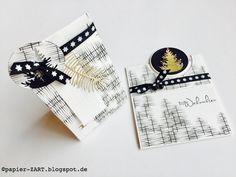papierZART : nordisch, Alexandra Renke, Designpapier, Weihnachten, Verpackung, Box, Weihnachtskarten