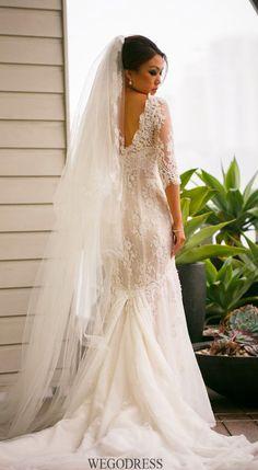 A wedding dress with sleeves Wedding 2015, Dream Wedding, Bridal Gowns, Wedding Gowns, Backless Wedding, Wedding Consultant, Sydney Wedding, Elegant Bride, Groom Outfit