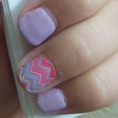 Get this look at alirae92.jamberrynails.net  #jamberry#jamicure#lillipopchevron#nails#accentnail#naildesigns