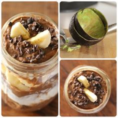 Avocado Pudding with Cacao Nibs//Jennifer Vagios, The Yonut
