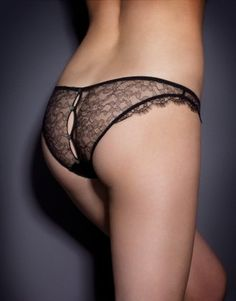 Agent Provocateur - Annoushka Lace knickers with pearl buttons back and front.