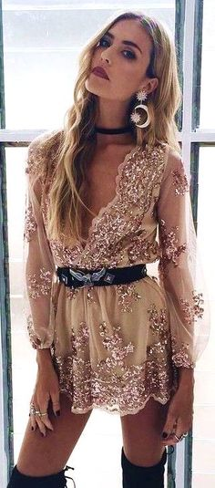 #spring #summer #fashion #outfitideas Golden Embellished Romper - more on http://ift.tt/2rynWxj