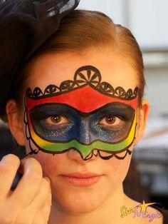 Venetiaans mask tutorial